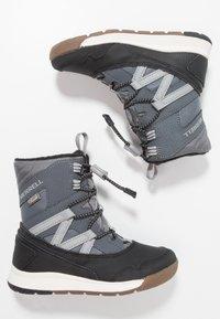 Merrell - M-SNOW CRUSH WTRPF - Botas para la nieve - grey/black - 0