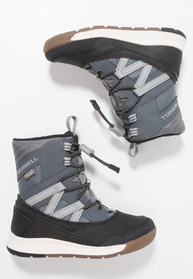 M-SNOW CRUSH WTRPF - Winter boots - grey/black