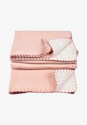 Muslin blanket - powder pink