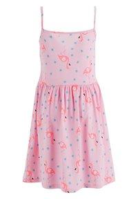 DeFacto - SUMMER - Jersey dress - pink - 1