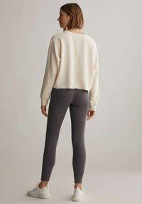 OYSHO - COMFORT - Collants - dark grey - 2