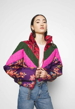 COSMIC FLORAL PUFFER - Winter jacket - multi