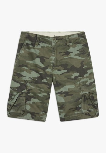 BOY - Cargo trousers - green camo