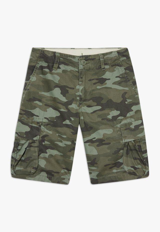 BOY - Pantalon cargo - green camo