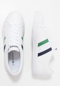 Lacoste - LEROND - Trainers - white/navy - 1