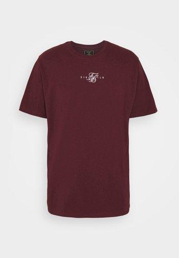 CORE TEE - T-shirt basic - burgundy