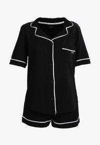 DKNY Intimates - TOP BOXER PJ - Pyjama set - black - 4