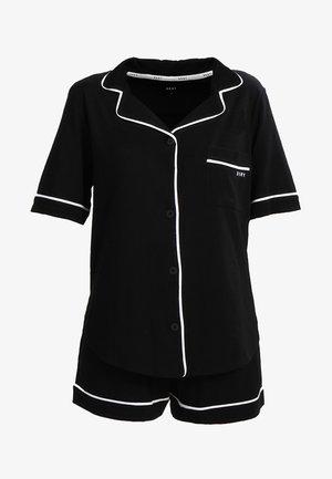 TOP BOXER PJ - Pyjama set - black