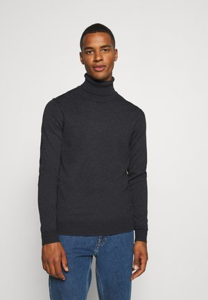 JPRFAST ROLL NECK  - Trui - dark grey melange