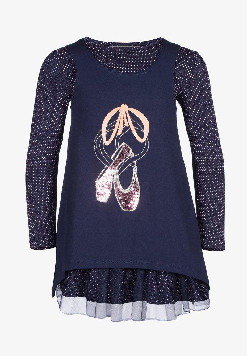 happy girls - 2IN1 EINHORN - Day dress - navy