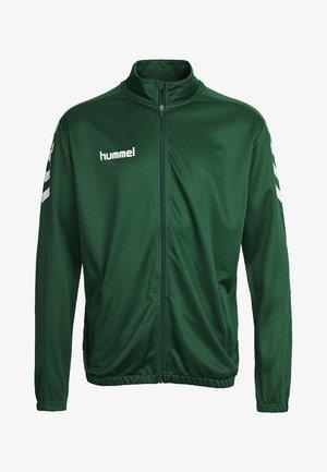 CORE - Training jacket - evergreen