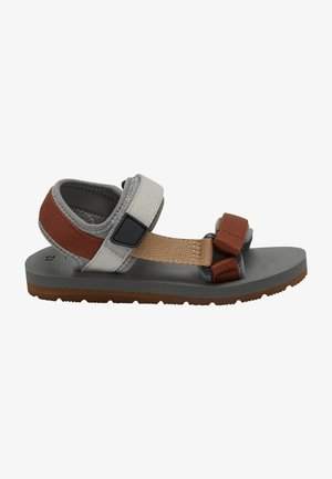 TREKKER - Walking sandals - grey