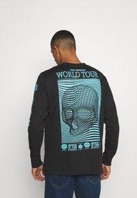 Urban Threads - GRAPHIC LONG SLEEVE TOP - Print T-shirt - black - 2