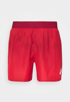 KASANE SHORT - Sports shorts - electric red/burgundy