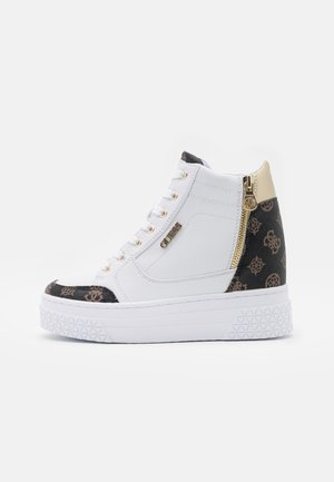 RIGGZ - High-top trainers - white/brown