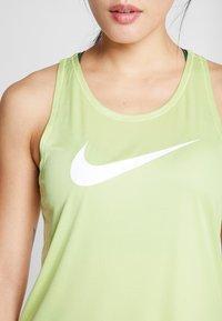 Nike Performance - TANK RUN - Camiseta de deporte - limelight/white - 6