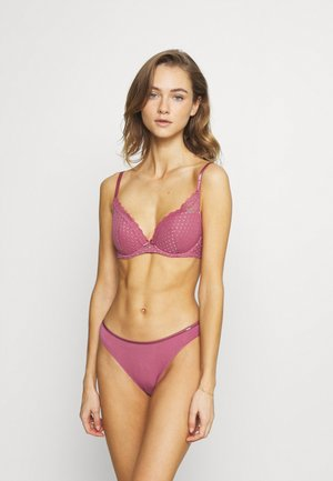 REESE 2 PACK - Push-up bra - pink/black