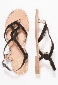 Anna Field - T-bar sandals - black - 3
