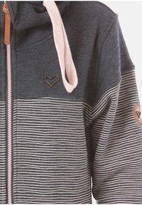 alife & kickin - PALINA  - Zip-up hoodie - stripes - 2