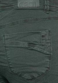 Cecil - Slim fit jeans - grün - 5