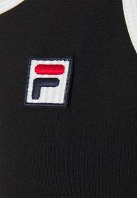 Fila - HOPE SPAGHETTI STRAP DRESS - Sukienka z dżerseju - black - 6