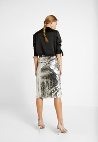 Glamorous - A-snit nederdel/ A-formede nederdele - silver - 2