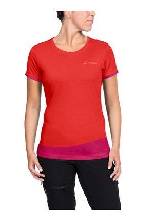 Print T-shirt - mars red