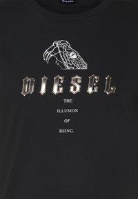 Diesel - T-DIEGOS-N30 T-SHIRT - T-shirt print - black - 2