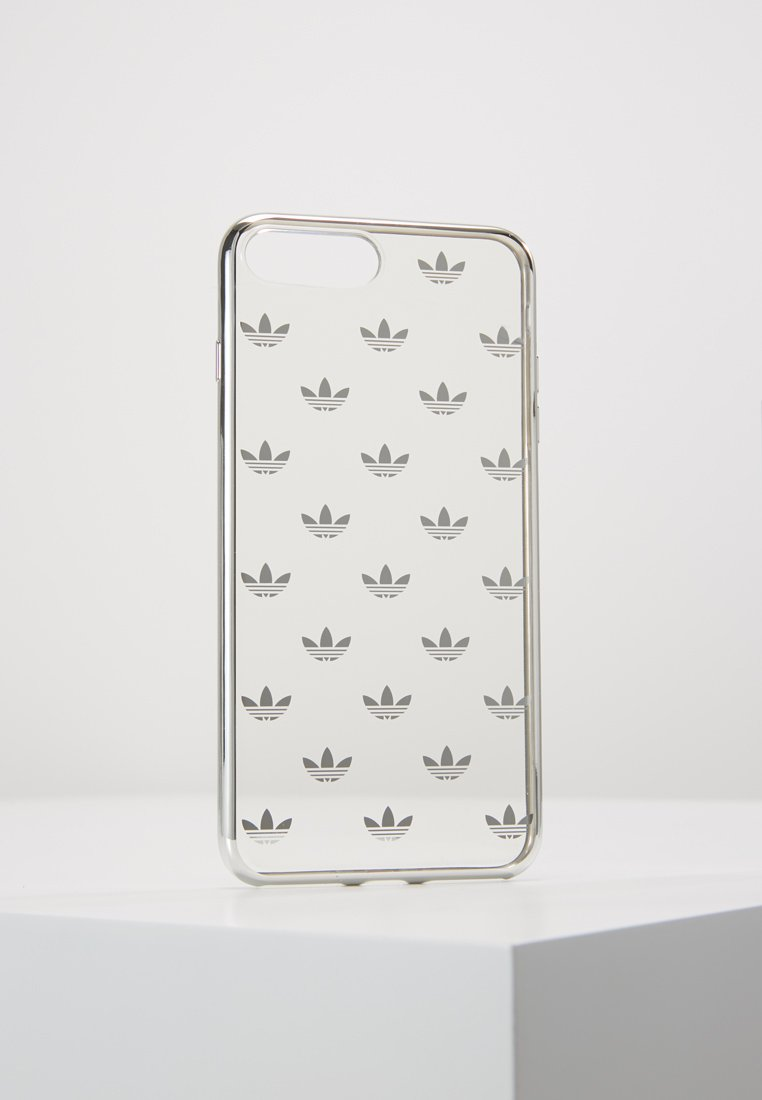 adidas Originals - CLEAR CASE - Mobiltasker - transparant/silver-coloured