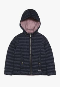 Barbour - GIRLS HIGHGATE QUILT - Winter jacket - navy/rose bay - 0