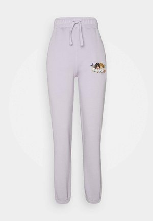 WOODLAND VINTAGE ANGELS PATCH  - Tracksuit bottoms - lilac