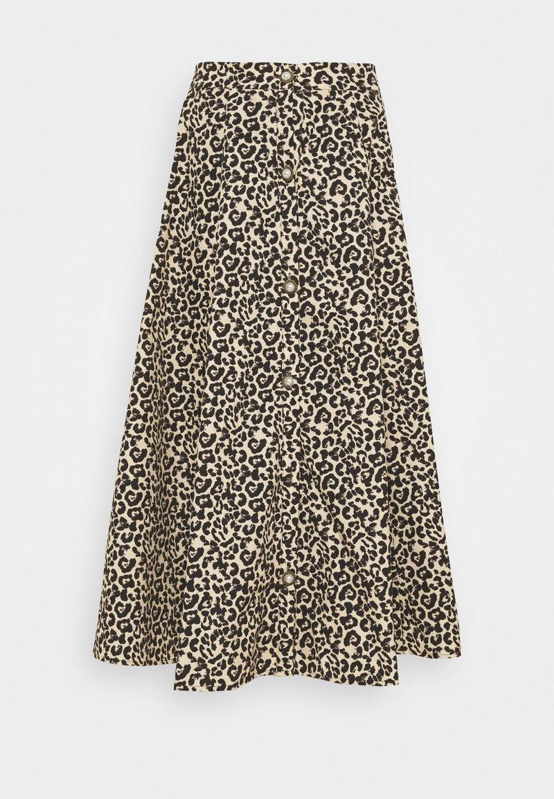 Sister Jane - QUICKSTEP MIDI SKIRT - A-line skirt - brown