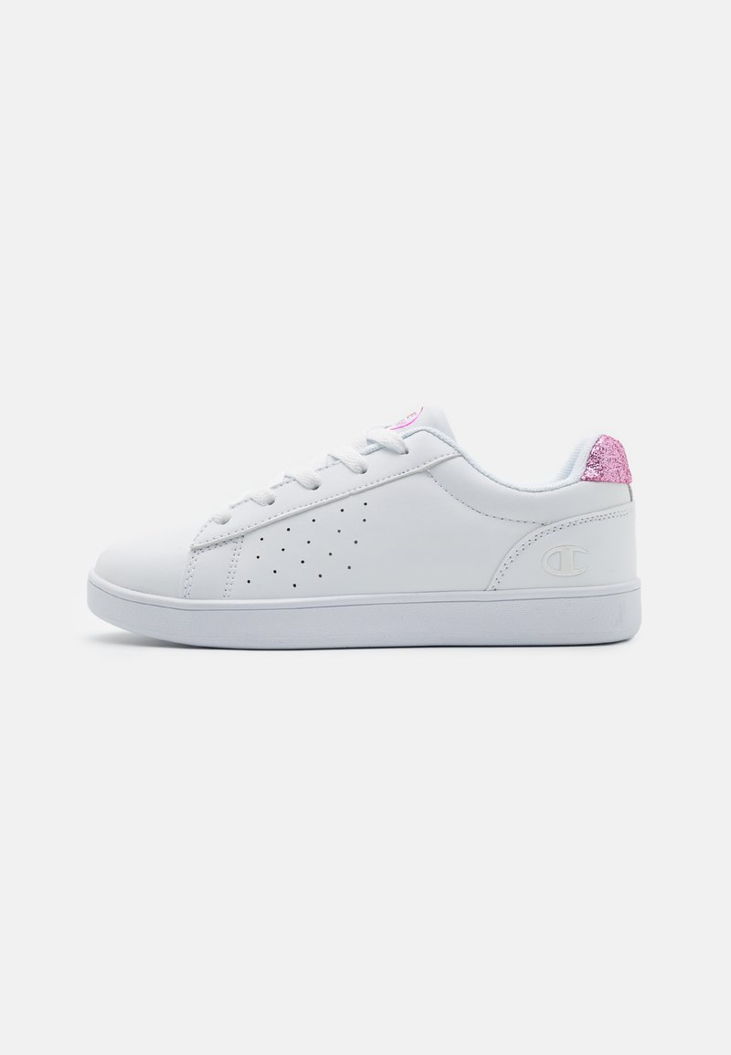 Champion - LOW CUT SHOE ALEXIA - Sports shoes - white/pink