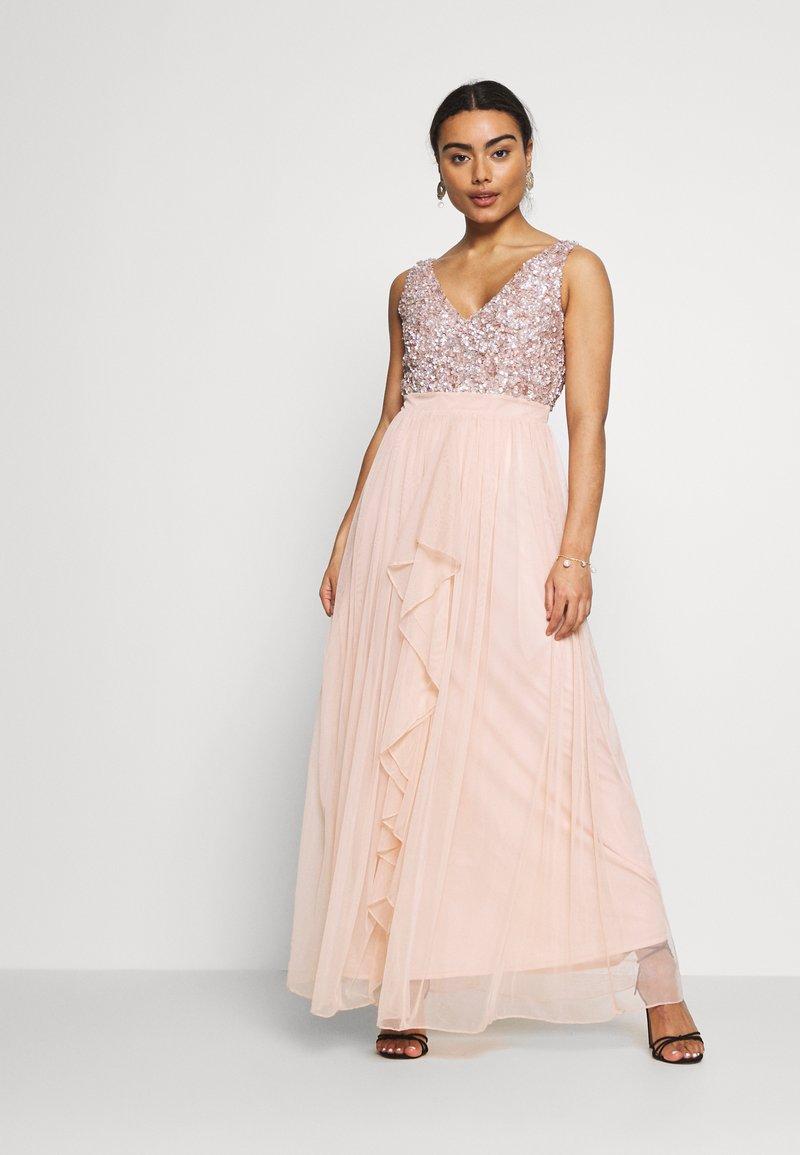 SISTA GLAM PETITE - YASMIN - Společenské šaty - blush