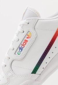 adidas Originals - CONTINENTAL 80 - Sneakersy niskie - footwear white/core black - 2