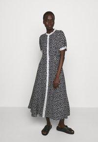 MAX&Co. - CABINA - Shirt dress - black - 0