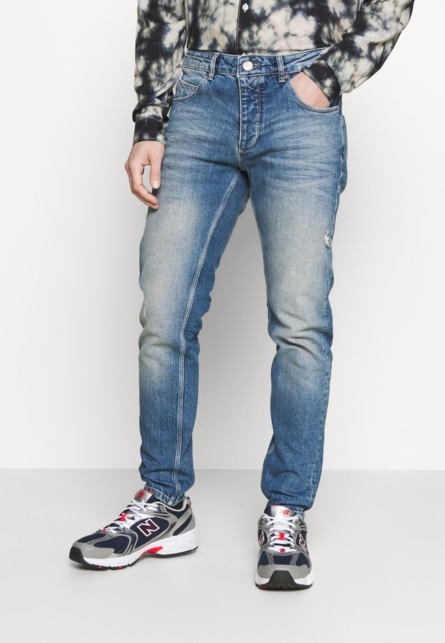 REY - Jeans a sigaretta - dark blue denim