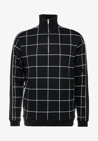 Topman - BLACKWINDOW PAIN TRACK TOP - Bluza - black - 4