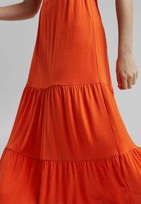 Esprit - A-line skirt - orange red - 3
