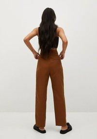 Mango - Trousers - bruin - 2