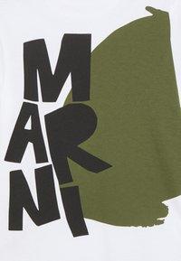 Marni - MAGLIETTA - Print T-shirt - white - 2
