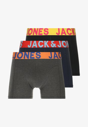JACCRAZY SOLID TRUNKS 3 PACK