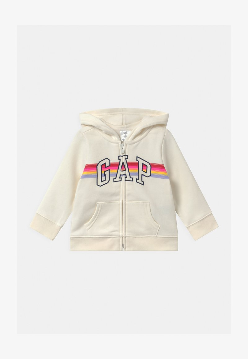GAP - TODDLER GIRL LOGO - Hoodie met rits - dream milk