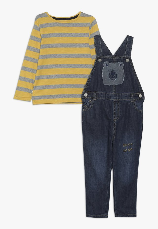 BABY DUNGAREE SET - Snekkerbukse - lights multi