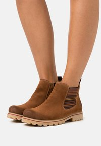 Rieker - Ankle boots - reh/braun/multicolor - 0