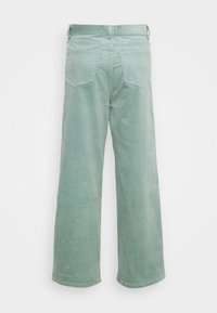 Weekday - LASHES TROUSERS - Pantaloni - petrol - 7