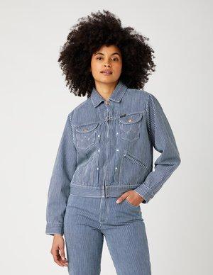 Denim jacket - indigo hickory
