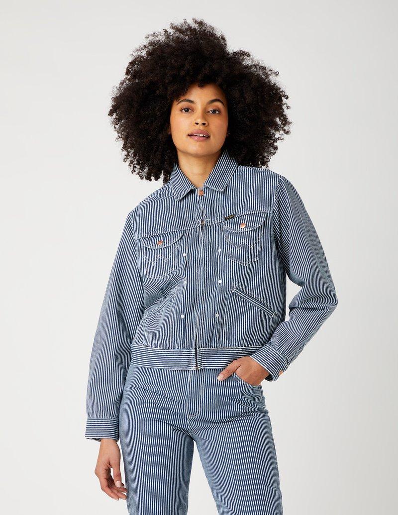 Wrangler - Denim jacket - indigo hickory