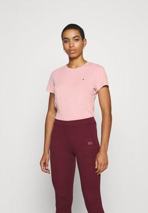 NEW CREW NECK TEE - Basic T-shirt - pink