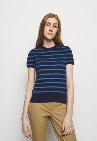 Polo Ralph Lauren - PIMA STRETCH - Print T-shirt - blue/multi - 0